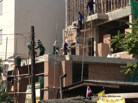 Dec 2012, house under construction