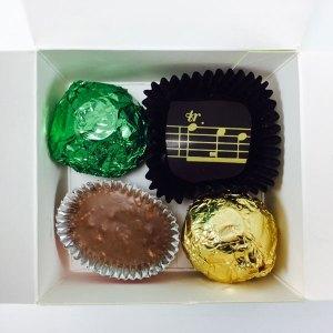 4 Piece Siganture Chocolates
