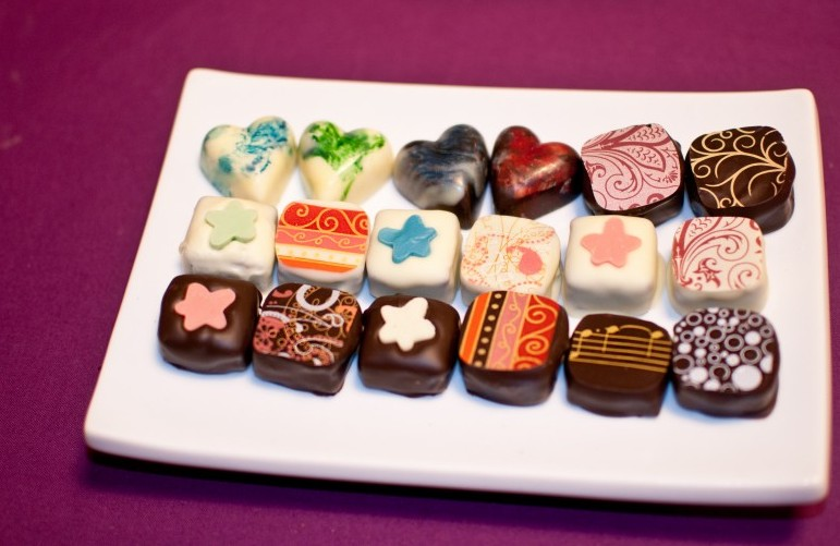 Plate of Chocolates