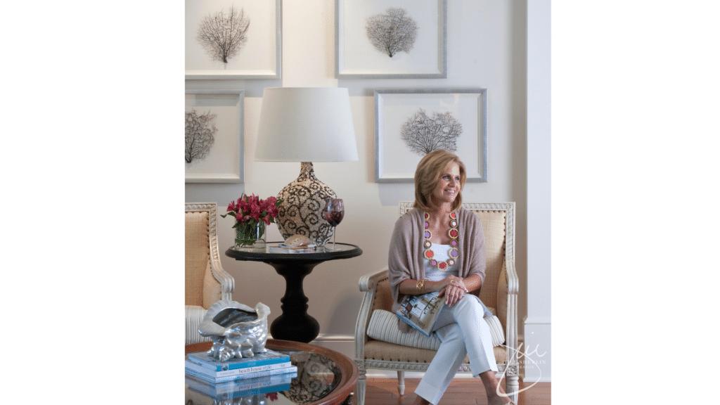 Jill Shevlin Design Purple Family Room Vero Beach Interior Designer Vero Beach Decorator