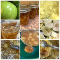 Sorghum Syrup and Apple Jam
