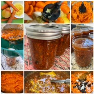 Carrot cake preserves