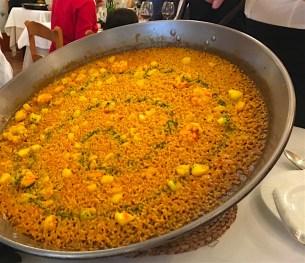 Paella del Senyoret Raco del Turia Valencia