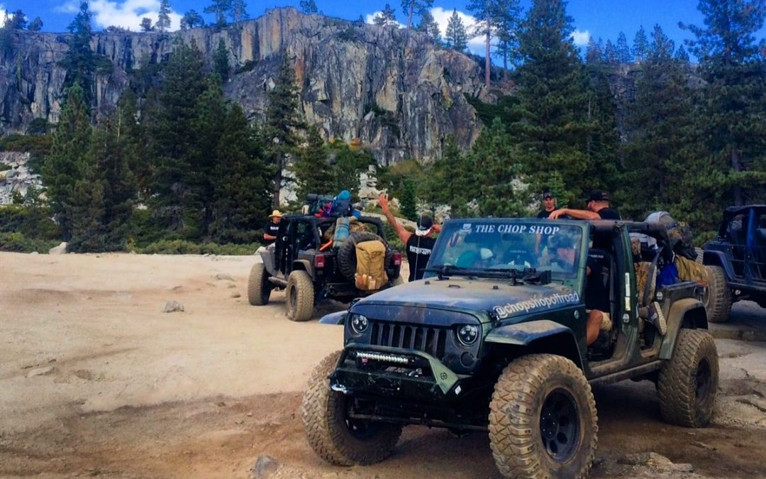 crossing the rubicon: a 3 day off road jeep adventure