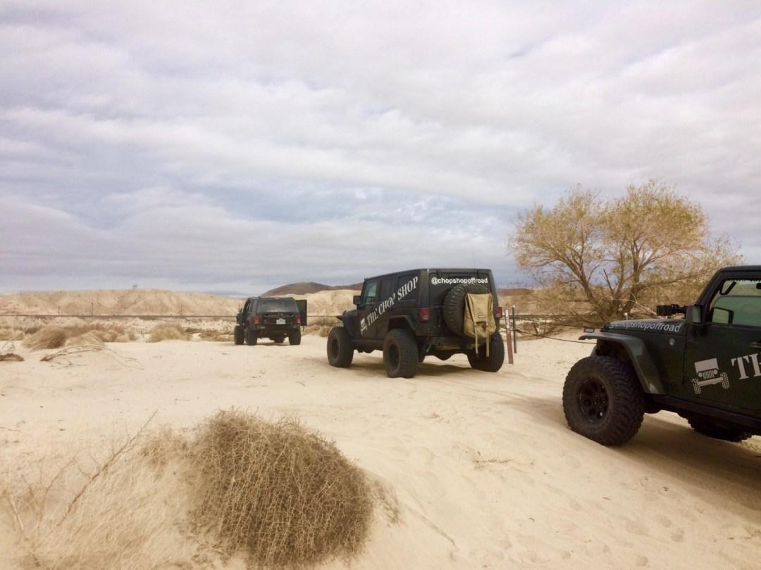 Mojave Trail jeeps