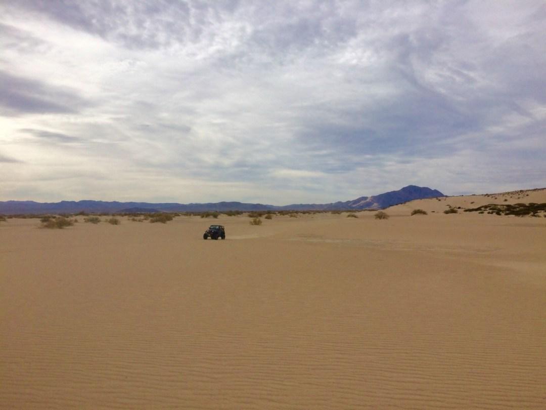 Mojave Trail sand dunes