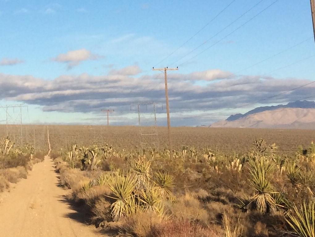 Mojave Trail powerline road