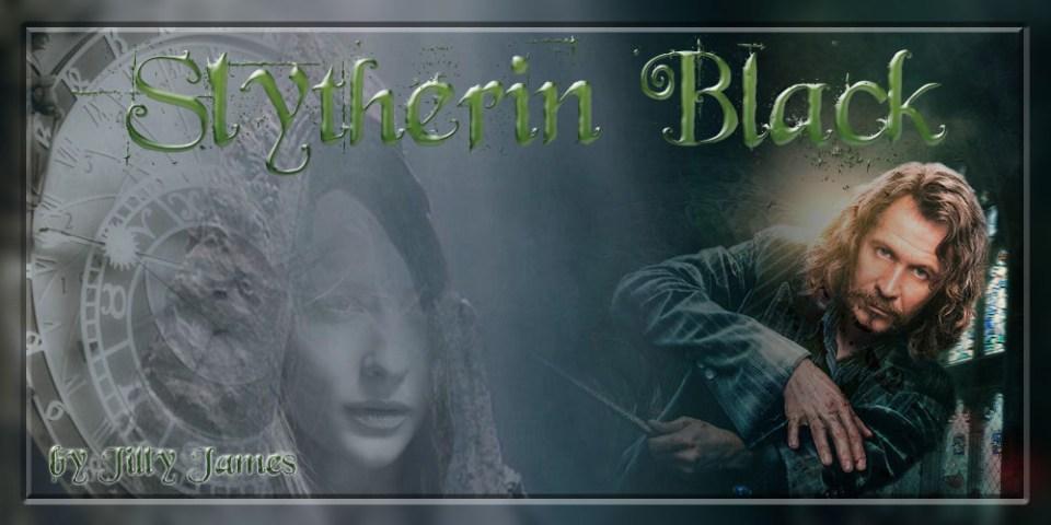 Slytherin Black by Jilly James