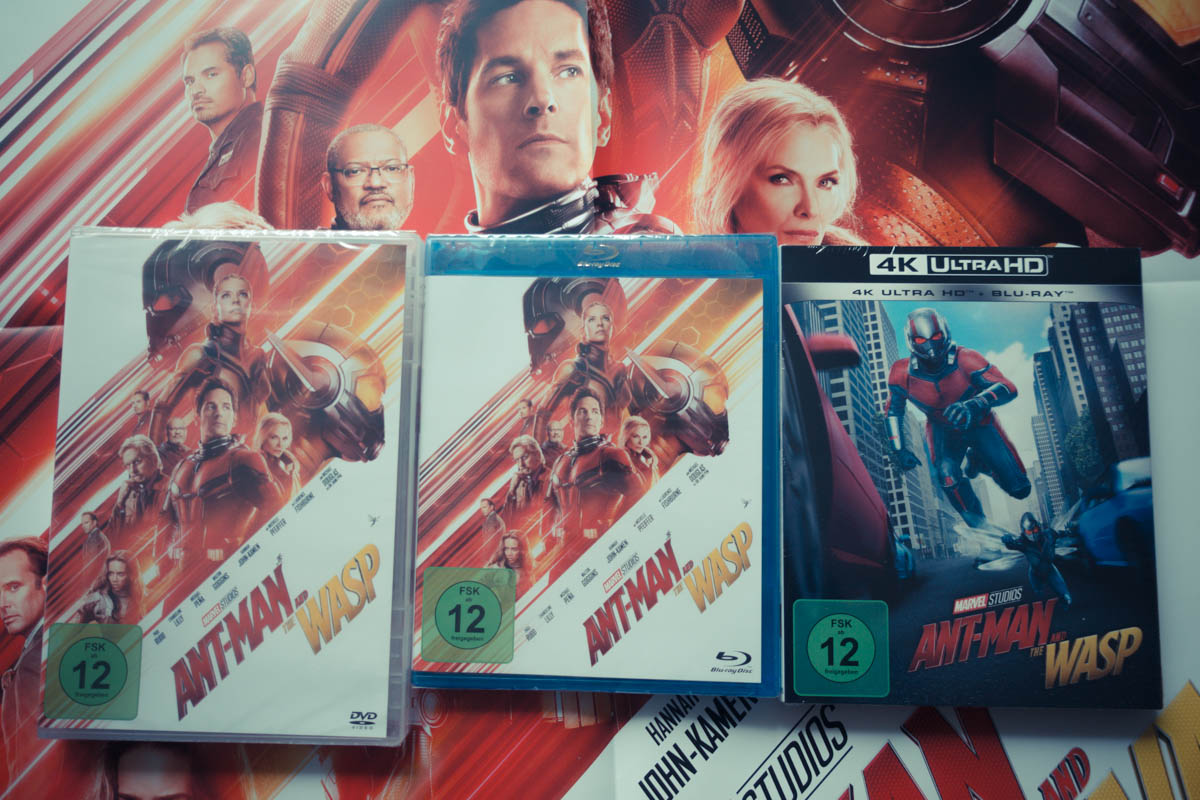 Gewinne 3x1 Fanpaket zu Ant-Man and the Wasp