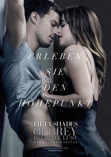 Fifty Shades of Grey - Befreite Lust ab 08. Februar im Kino
