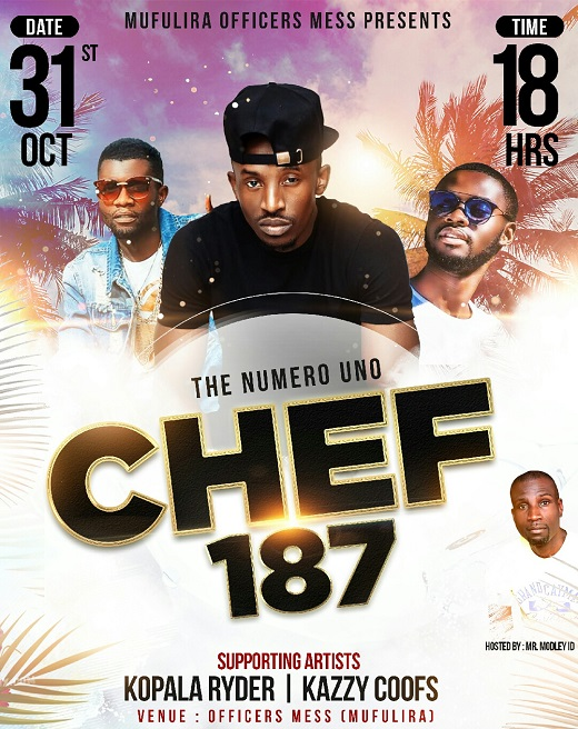 Officers Mess Chef 187 Poster