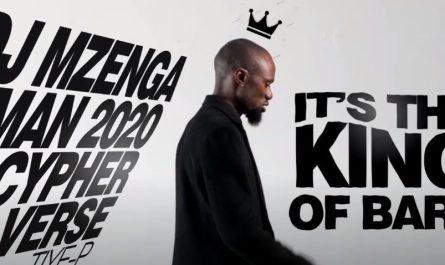 Tiye P Mzenga Man 2020 Cypher Verse
