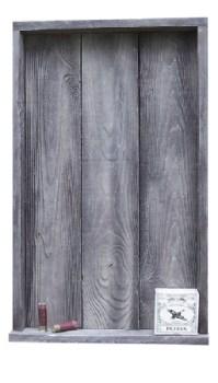 barnwood shadow box