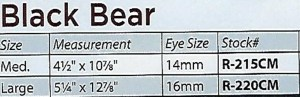 bear rug closed mouth