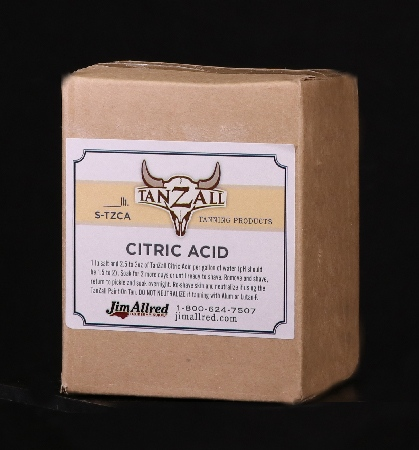 Citric acid, tanzall, tanning, cape tanning, taxidermy supplies, taxidermy supply