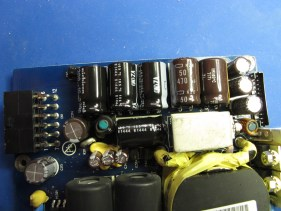 Shiny new capacitors