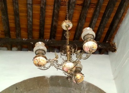 Chandelier in Tlaquepaque.