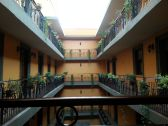 Courtyard of the Hotel Morales, GDL