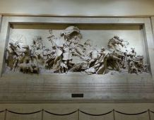 Awesome frieze at Philadelphia 30th Street Station