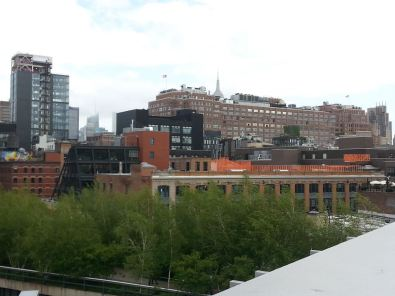 View from High Line uptown