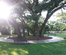 Little park in Miami Shores