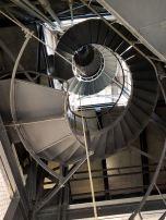 Vertigo! The circular stairs from below. I did not get dizzy.