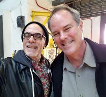 Blogger on left, Bill Arnold on right