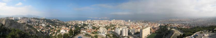 1574 Marseille Coast Panoramic