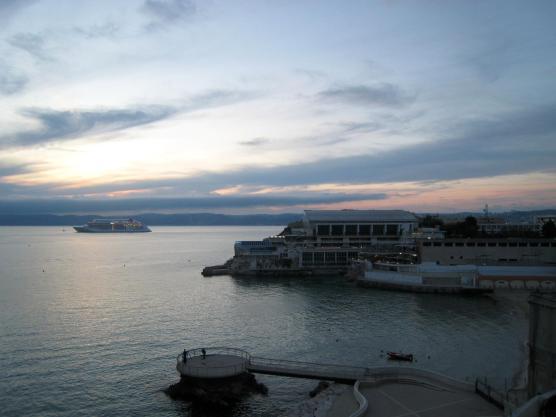 1709 Sunset over Marseille
