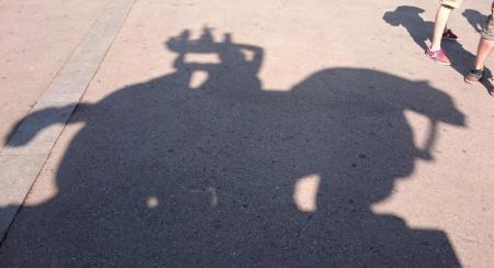 1767 Statue Shadow