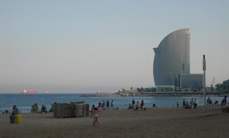 1803 Barcelona Beach