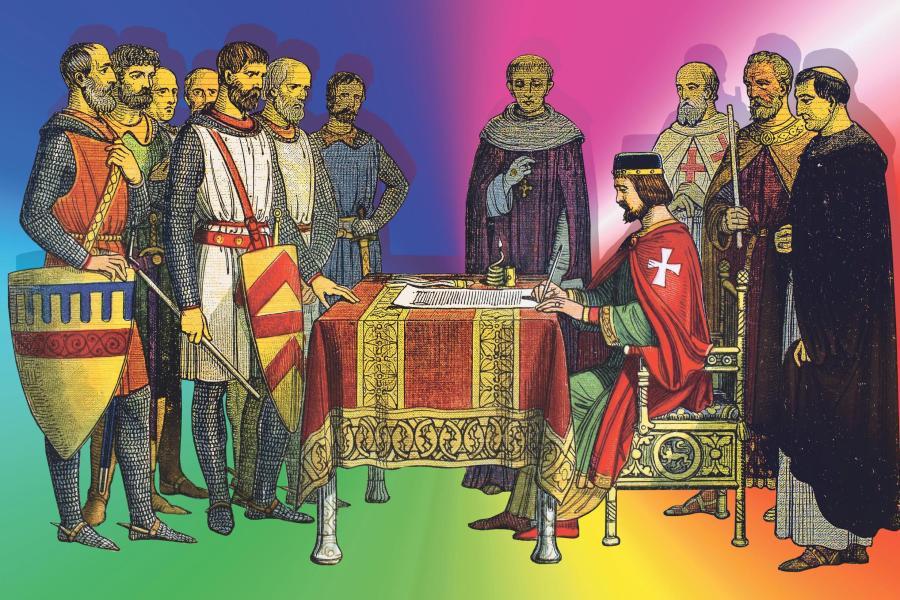 magna charta signing CHhWQjxUwAAFs0N