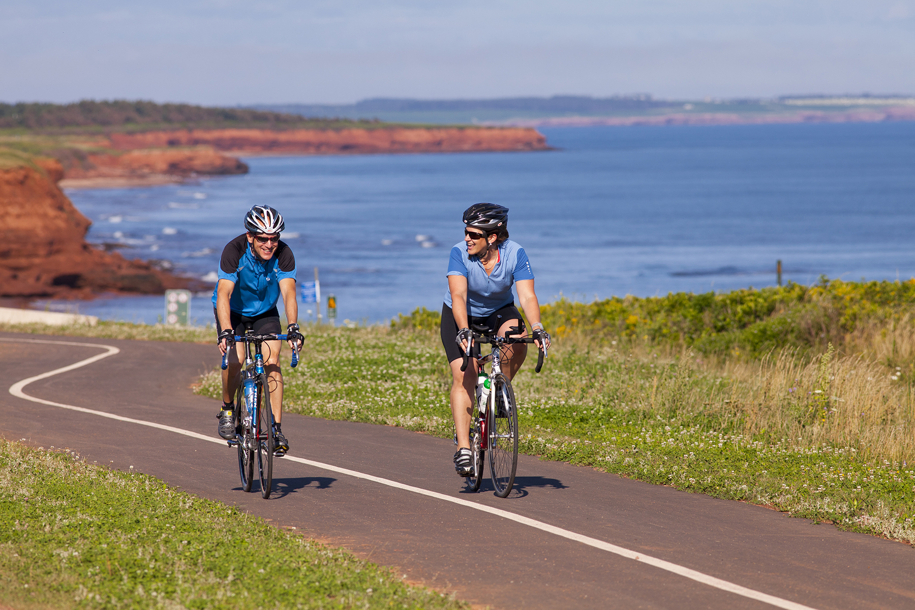 Cycling is a great way to enjoy the gentle island of PEI and Prince Edward Island National Park. PHOTO BY JOHN SYLVESTER/PARKS CANADA