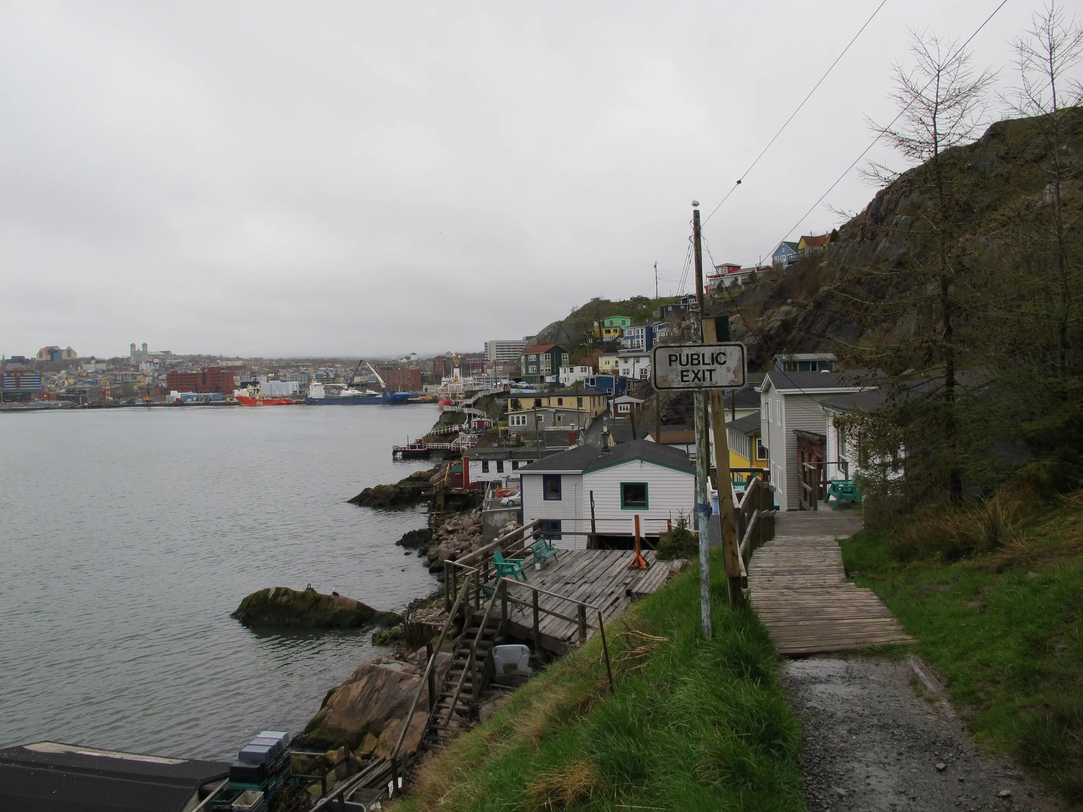 A walk through The Battery is a must on any visit to St. John's.