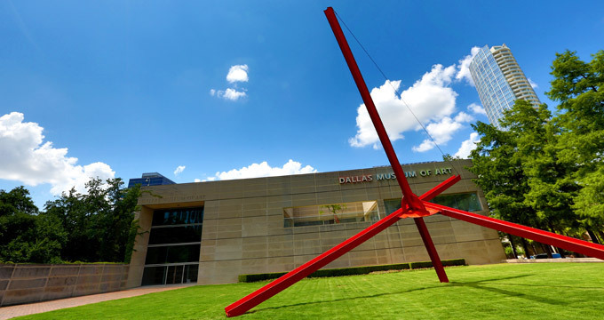 The Dallas Art Museum.