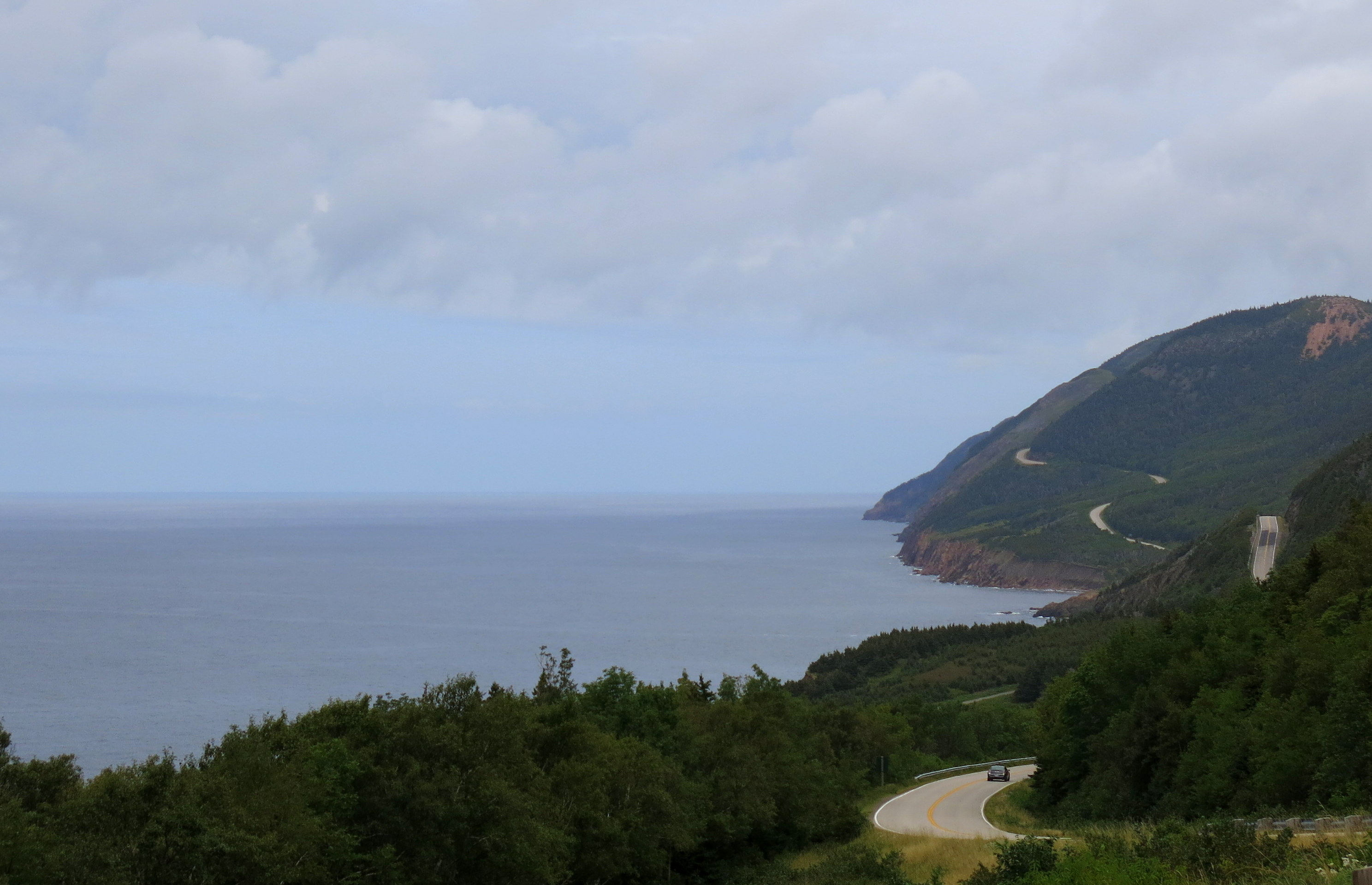 The famous Cabot Trail on Cape Breton; one of the world's top driving trips. JIM BYERS PHOTO