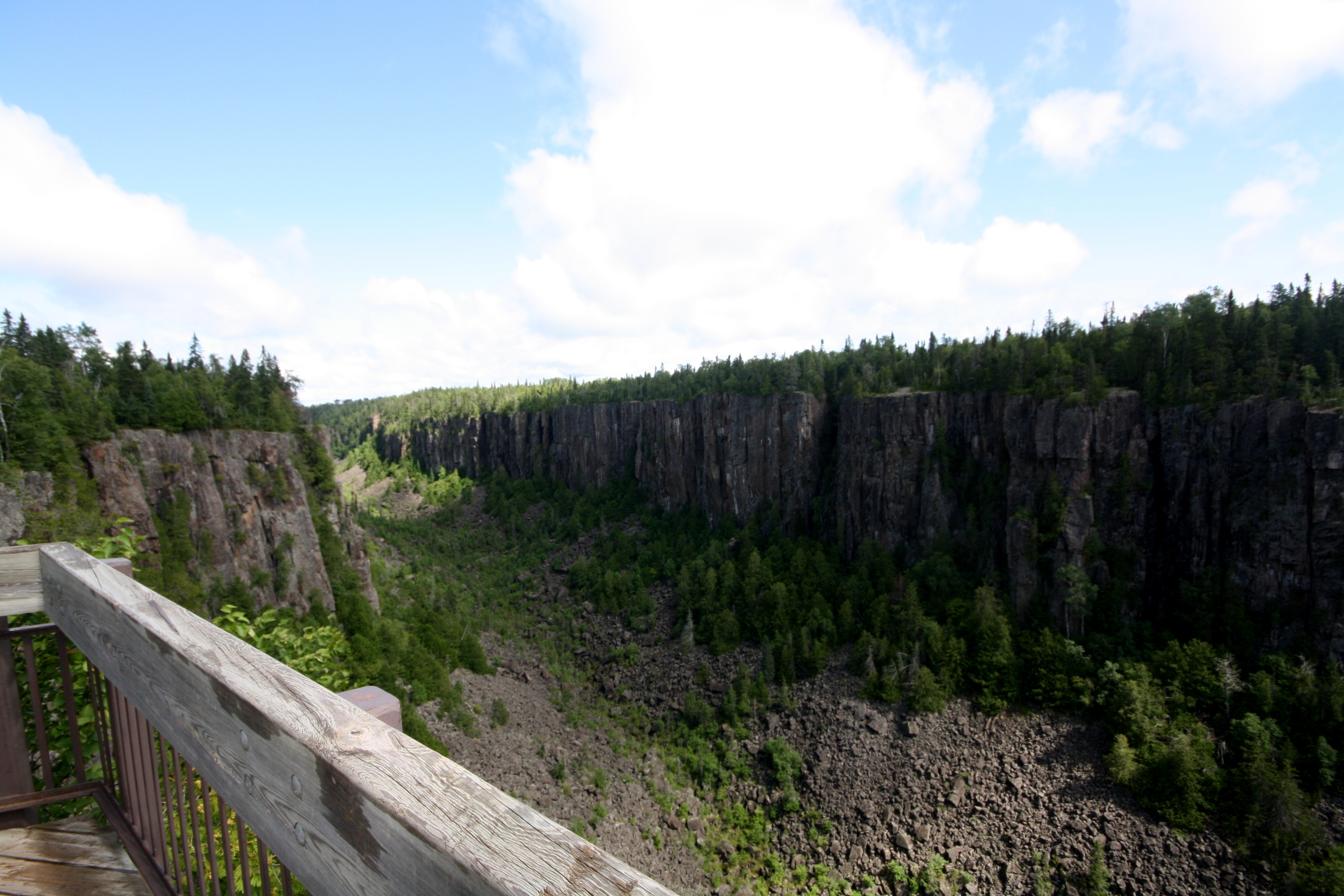 Ouimet Canyon is a truly fantastic spot near Thunder Bay that doesn't get nearly enough attention. JIM BYERS PHOTO