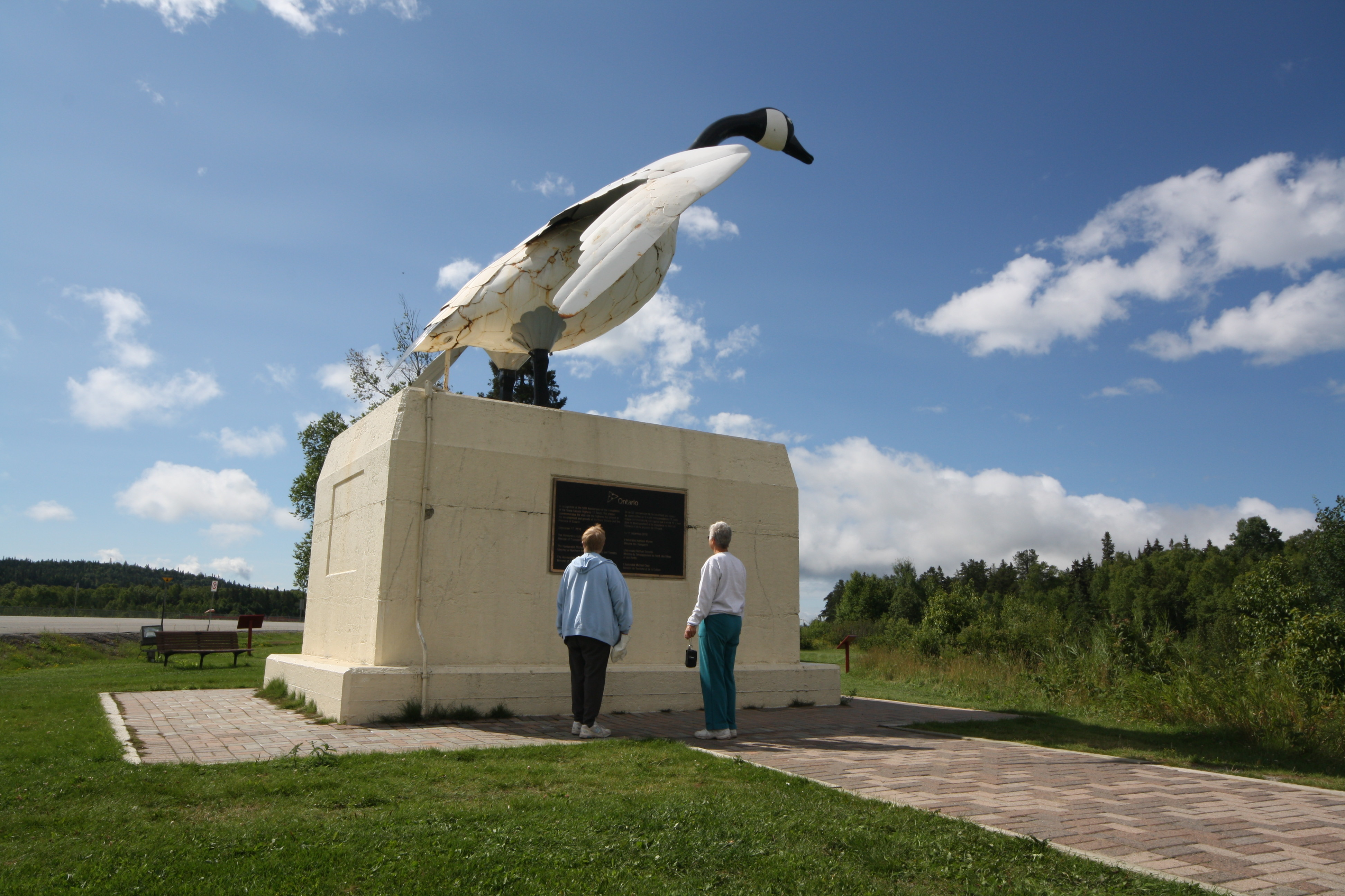 The Wawa Goose is one of Ontario's most iconic sights. Last I heard they were still trying to raise money to fix her up. JIM BYERS PHOTO