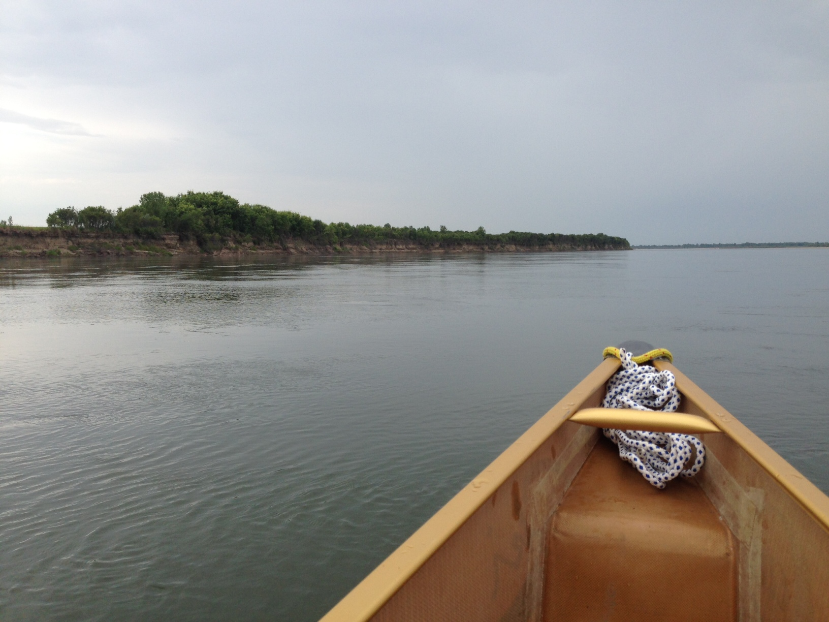 The folks at Canoeski can take on a tranquil canoe ride on the S. Saskatchewan River.