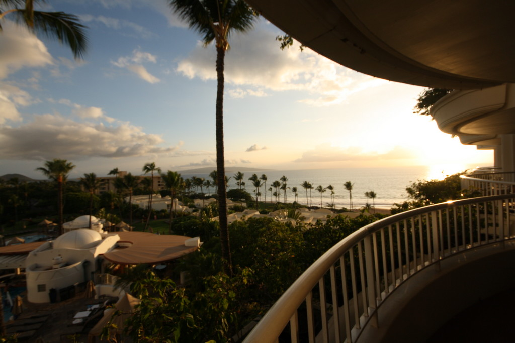 Rooms at the Fairmont Kea Lani feature generous patios with killer views of the Pacific.