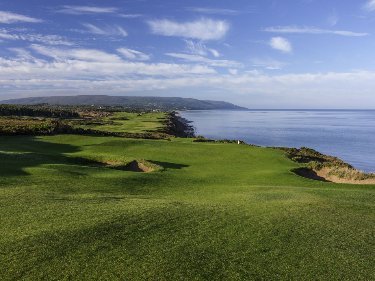 The new Cabot Cliffs course in Cape Breton, Nova Scotia is one of the top layouts in North America.