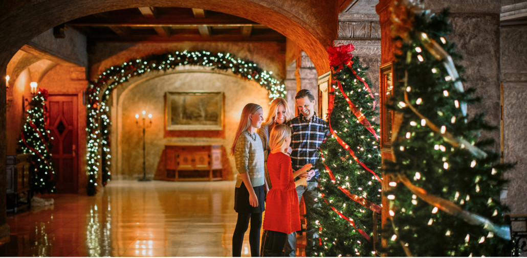 christmas at the fairmont banff springs hotel - How Does Canada Celebrate Christmas