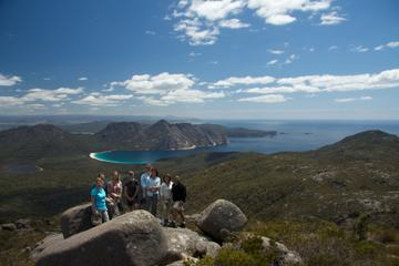 A walk in the hills above Freycinet Bay, Tasmania.