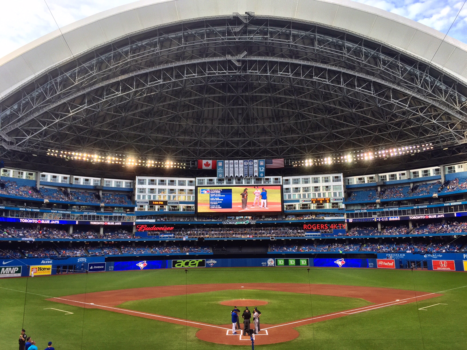 A full house at the Rogers Centre is a wonderful thing in Toronto. - JIM BYERS PHOTO