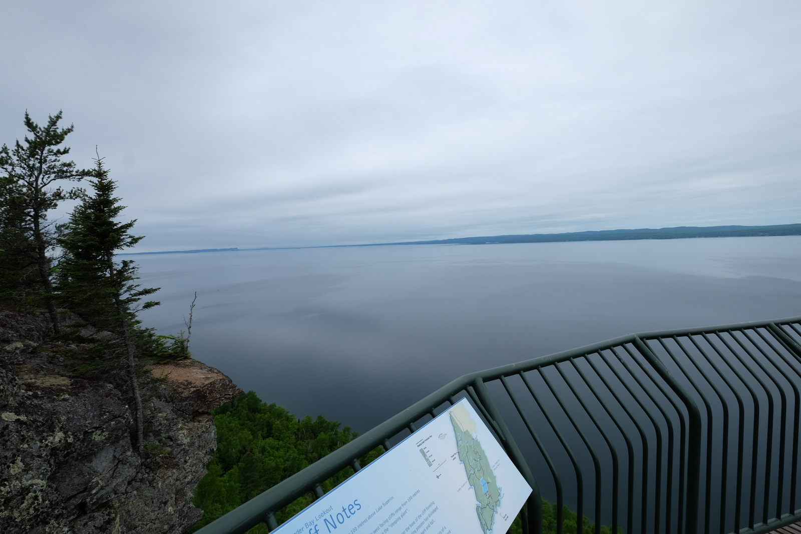 The Thunder Bay lookout at Sleeping Giant Provincial Park. JIM BYERS PHOTO