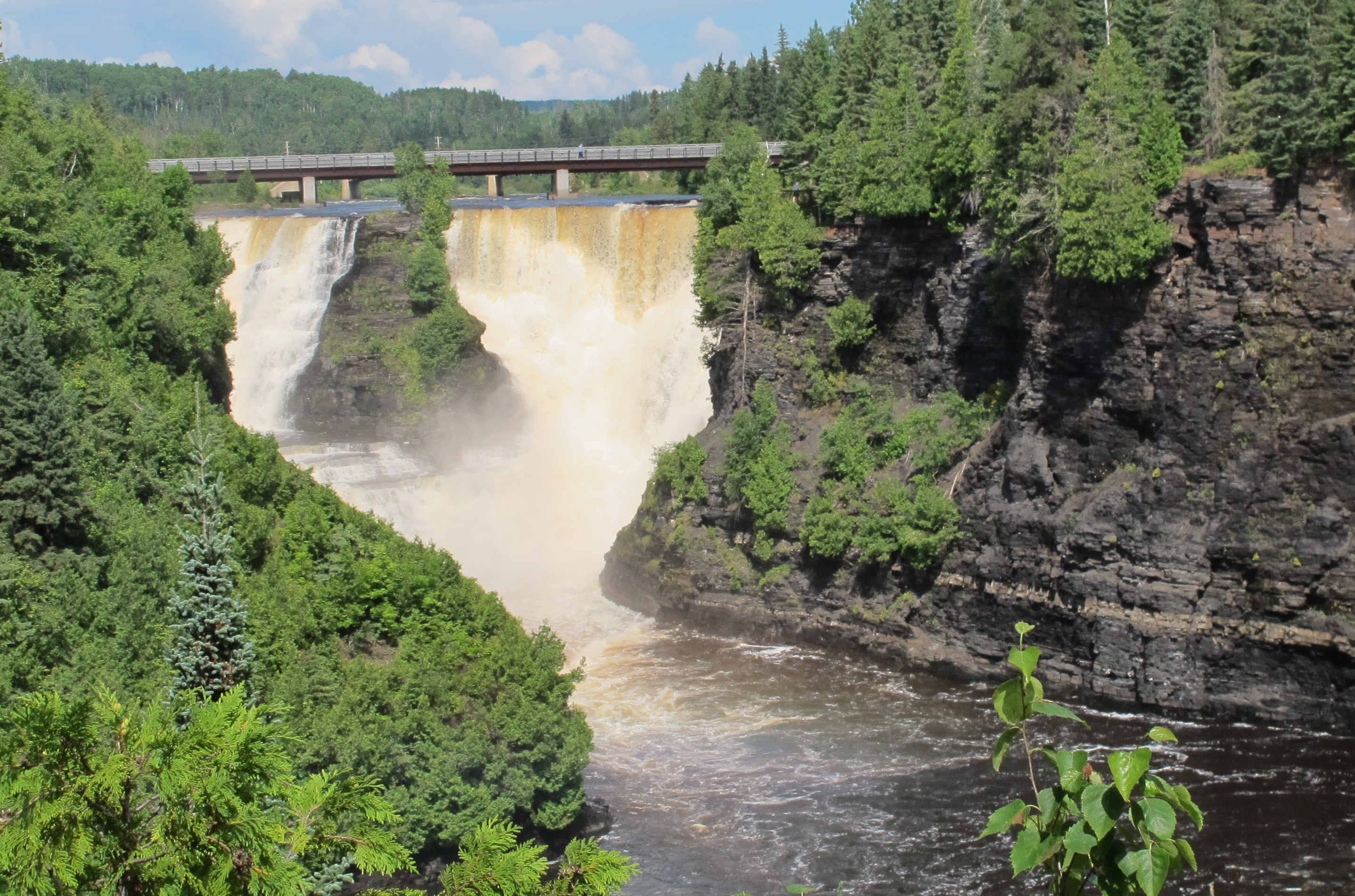 Kakabeka Falls is a glorious spot to admire nature that's just west of Thunder Bay. JIM BYERS PHOTO