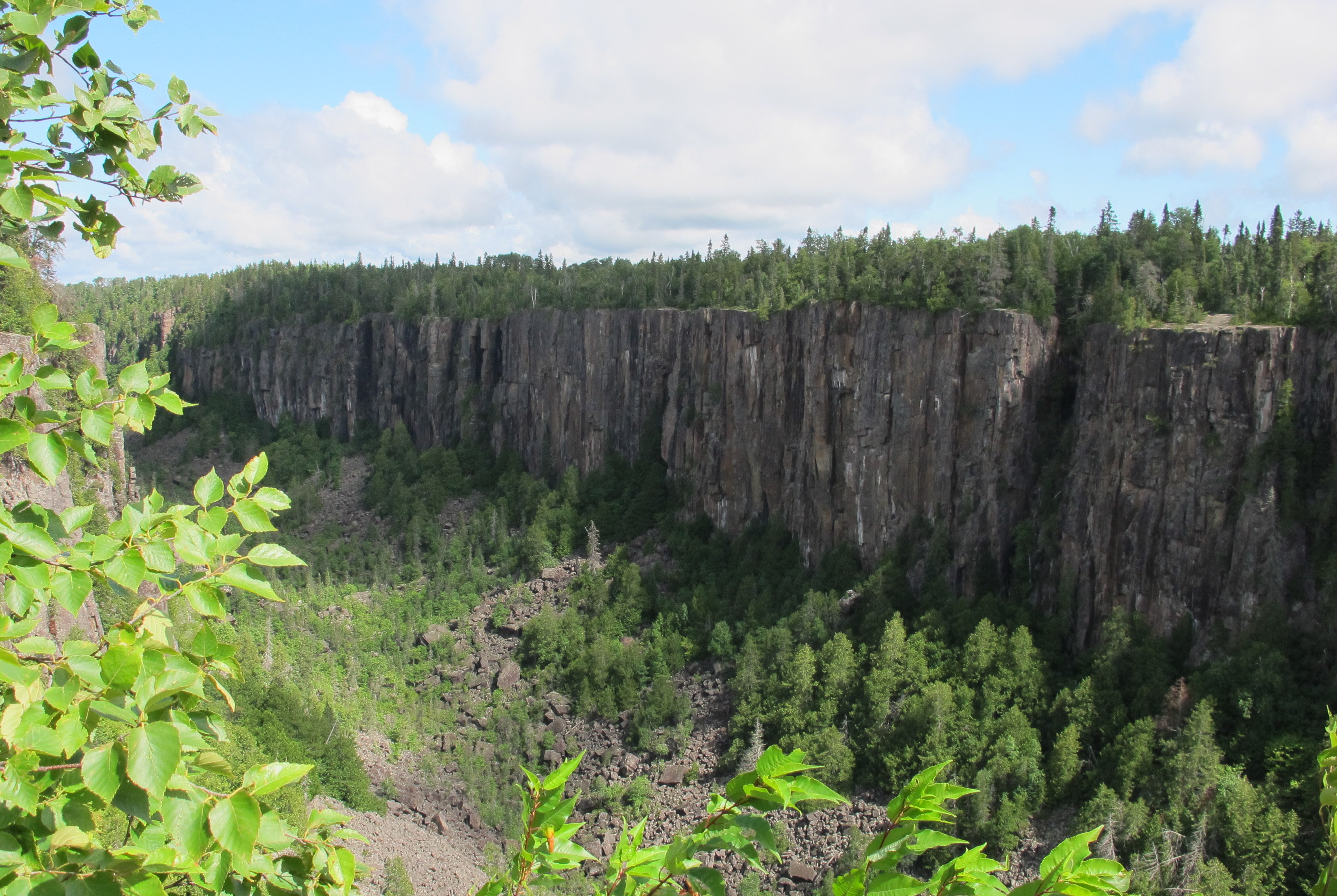 Ouimet Canyon is something of a hidden gem east of Thunder Bay, Ontario. JIM BYERS PHOTO