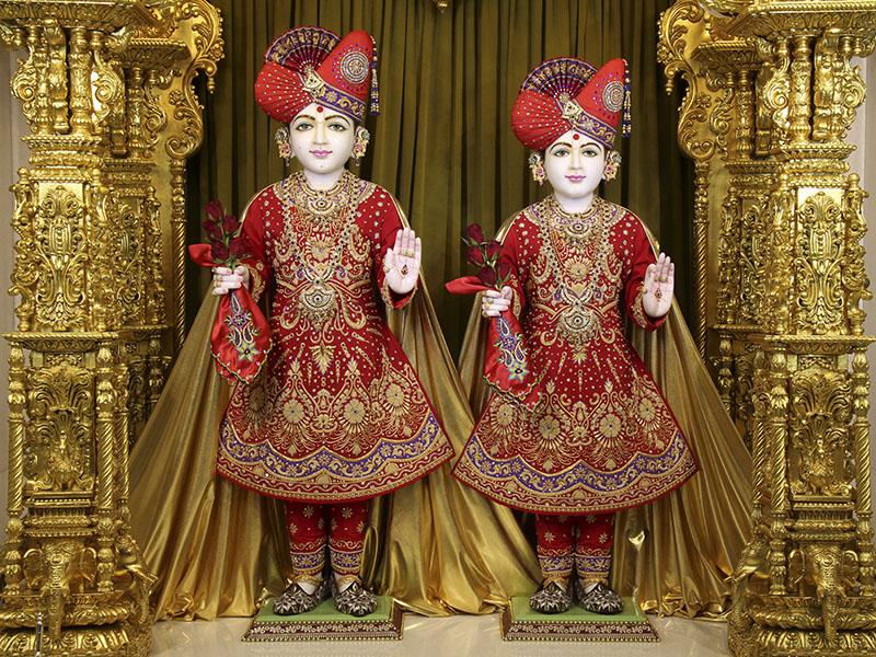 The murti statuettes are a fantastic part of the BAPS Shri Swaminarayan Mandir in Toronto.