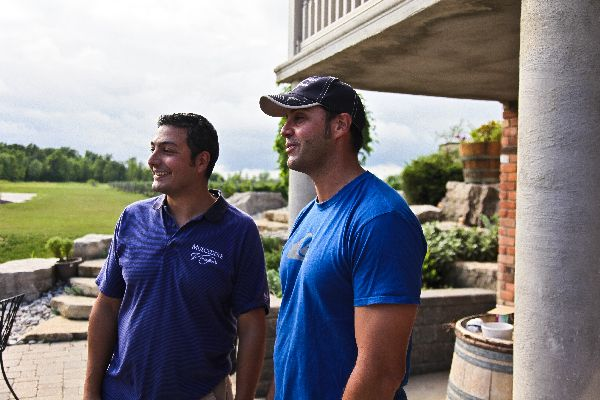 Fabio and Rob Muscedere are part of a family-run enterprise at Muscedere Vineyards. - PHOTO SUPPLIED BY FABIO MUSCEDERE