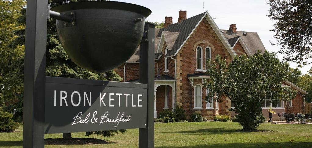 Iron Kettle B & B is a lovely-looking spot in Comber, Ontario; only a half-hour from Windsor. - PHOTO COURTESY IRON KETTLE B & B